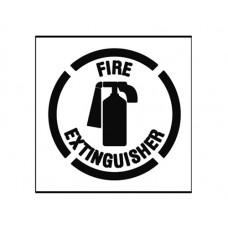 20 Inch FIRE EXTINGUISHER Stencil