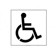 20 Inch Handicap Symbol Stencil