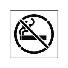 20 Inch NO SMOKING Stencil