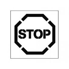 20 Inch STOP Stencil