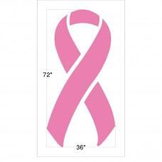 Breast Cancer Ribbon (1/16 inch)