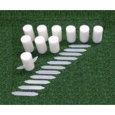 Replacement Markers (Qty 10) for SafeMark Permanent Field Layout System