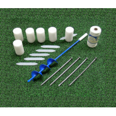 SafeMark 25 Piece Permanent Field Layout System for Soccer